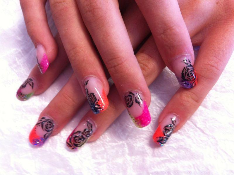 deco ongle gel nail art